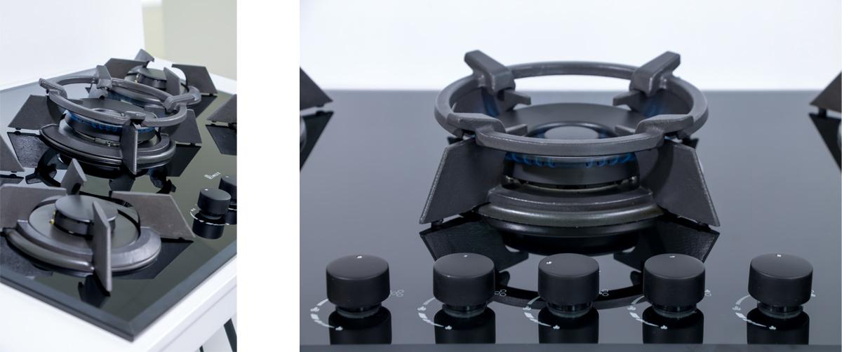 MG0058 گاز شیشه ای مشکی بیمکث مدل