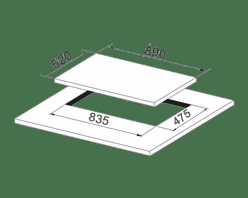 DG525 Dual گاز صفحه ای داتیس مدل