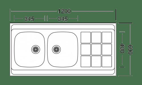 سینک لتو مدل TL-4