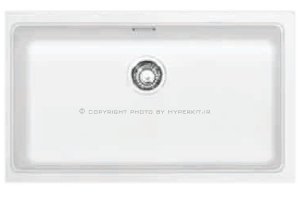 سینک گرانیتی گرانیکو مدل G903 سفید