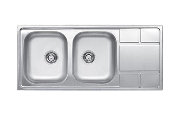 Leto Stainless Steel Sink TX61 Linen