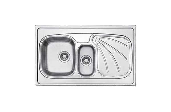 Leto Stainless Steel Sink TL10 Polished