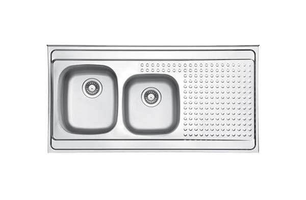 Leto Stainless Steel Sink TL3 Polished