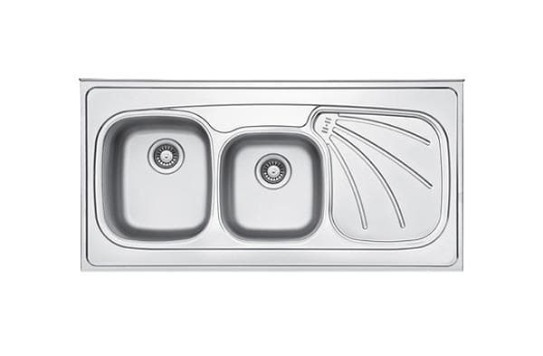 Leto Stainless Steel Sink TL5 Polished