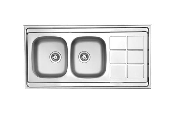 Leto Stainless Steel Sink TL1 Polished