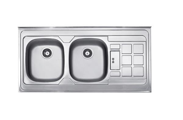 سینک ظرفشویی روکار کن مدل 315