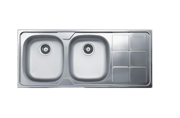 سینک ظرفشویی توکار کن مدل 316