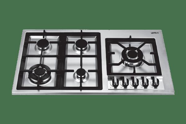 PS 37 گاز استیل رومیزی آشپزخانه لتو مدل
