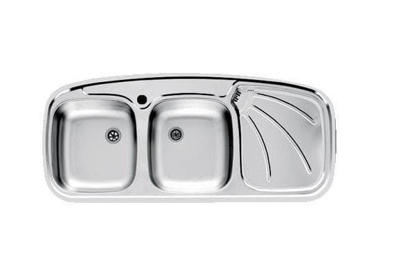 سینک ظرفشویی توکار اخوان کد (مدل) 136