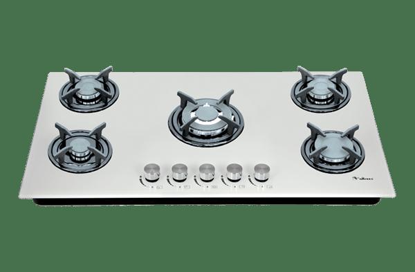 DG-503 Ultra گاز توکار 5 شعله شیشه نشکن داتیس مدل