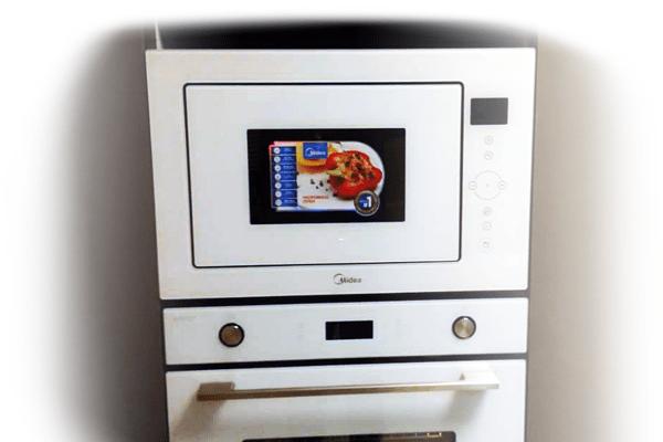 مایکروفر میدیا مدل 625 سفید