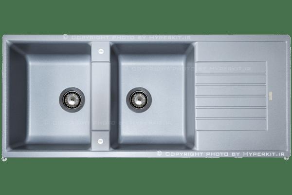 مشخصات سینک گرانیتی مکاپا مدل کوادور طوسی