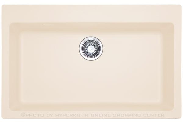 سینک گرانیتی مکاپا مدل لنوکس Lenox 80 کرم