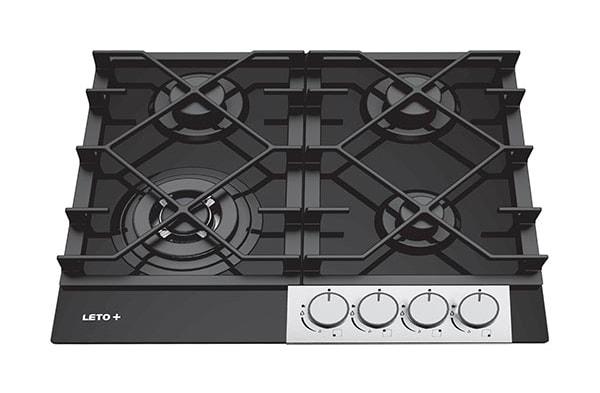 گاز آشپزخانه چهار شعله توکار لتو مدل پی جی 42