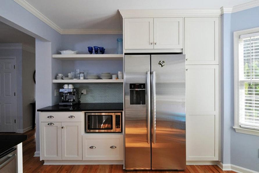 محل مناسب برای مایکروویو در آشپزخانه